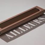 """Ailleurs"", 1992 Carton 0,995 x 0,27 x 1,115 m"