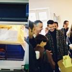 """""""Espace potentiel n°8"""", 1998 Chocolat blanc Reproduction à l'échelle et de mémoire d'une partie de l'espace de la Galerie Interface pour l'exposition """"50 m3"""" 1998"""