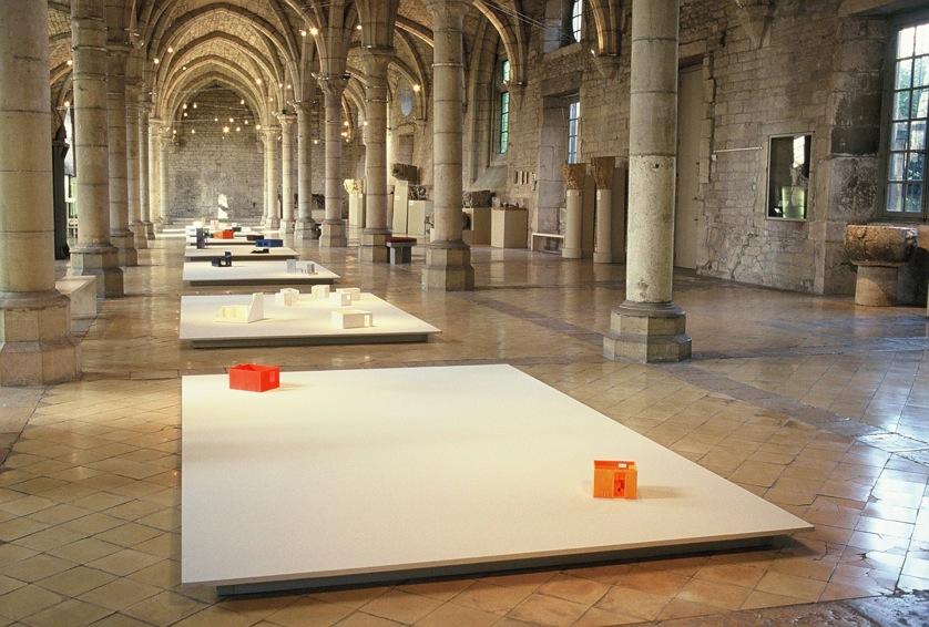 Vue générale de l'installation, Musée Archéologique, Dijon.